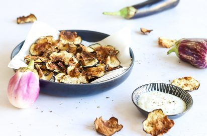 Aubergine Chips