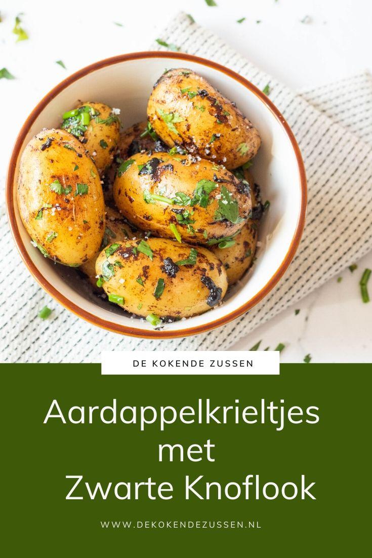 Aardappel Krieltjes met Zwarte Knoflook