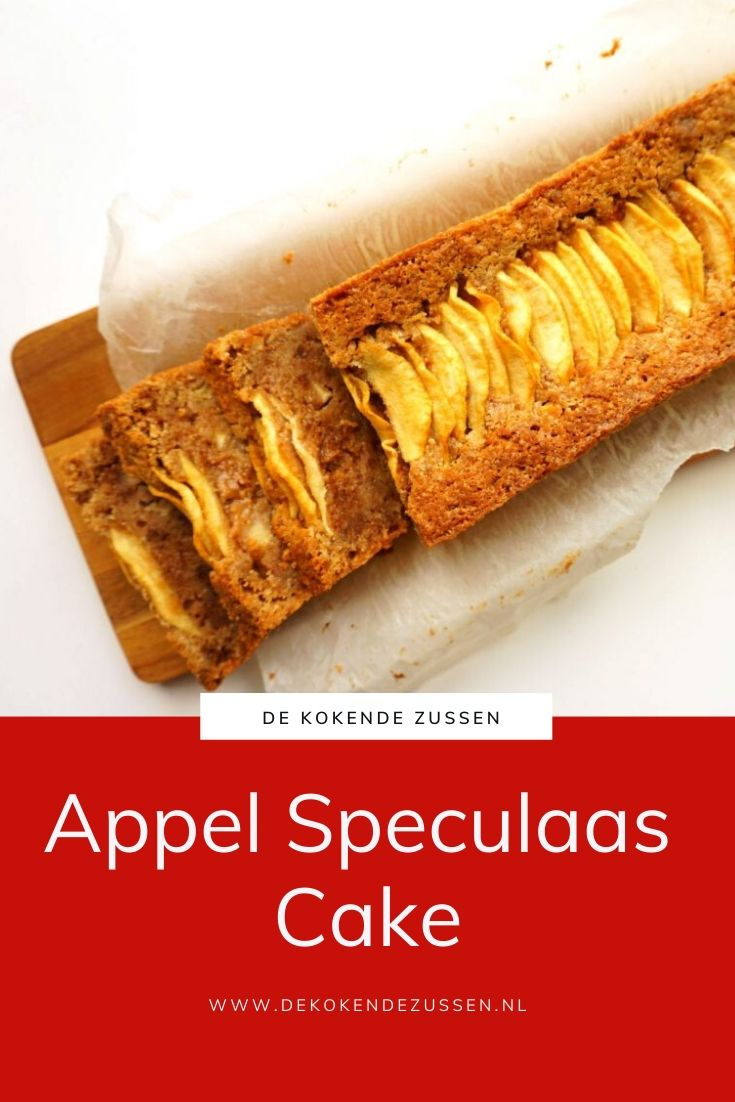 Appel en Speculaascake