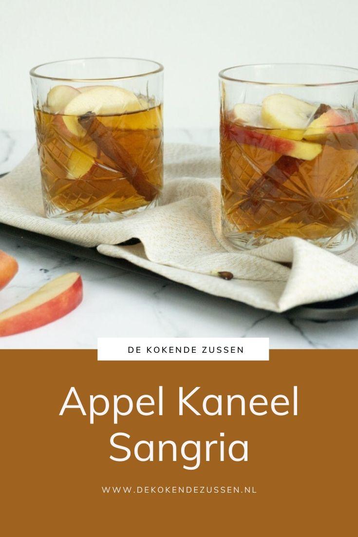 Appel Kaneel Sangria