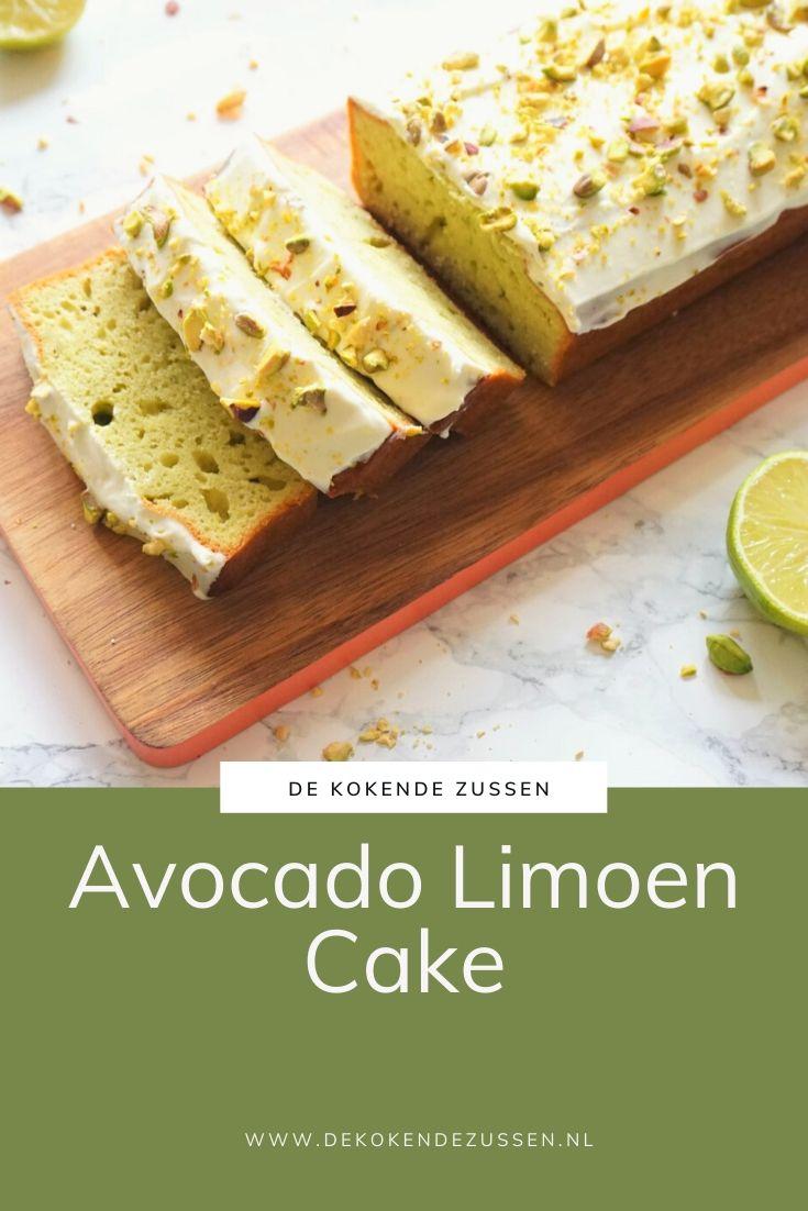 Avocado Limoencake