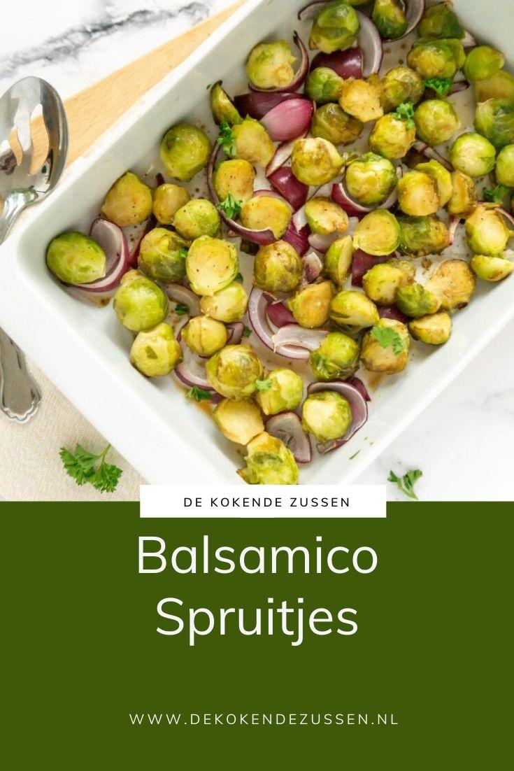 Balsamico Spruitjes uit de Oven