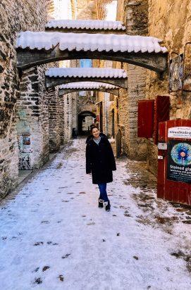 Stedentrip Tallinn St. Catherine's Passage
