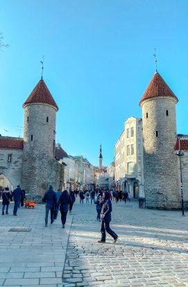 Stedentrip Tallinn: Viru Gates