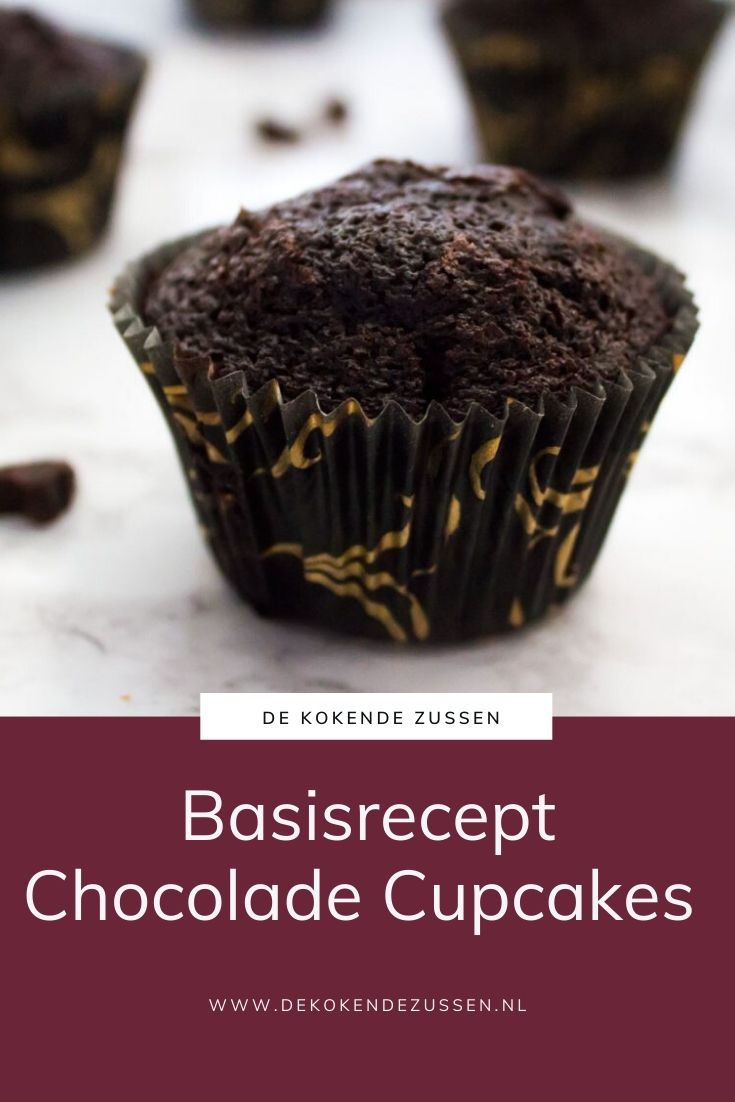 Basisrecept voor Chocolade Cupcakes