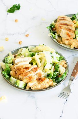 Caesar Pasta Salade