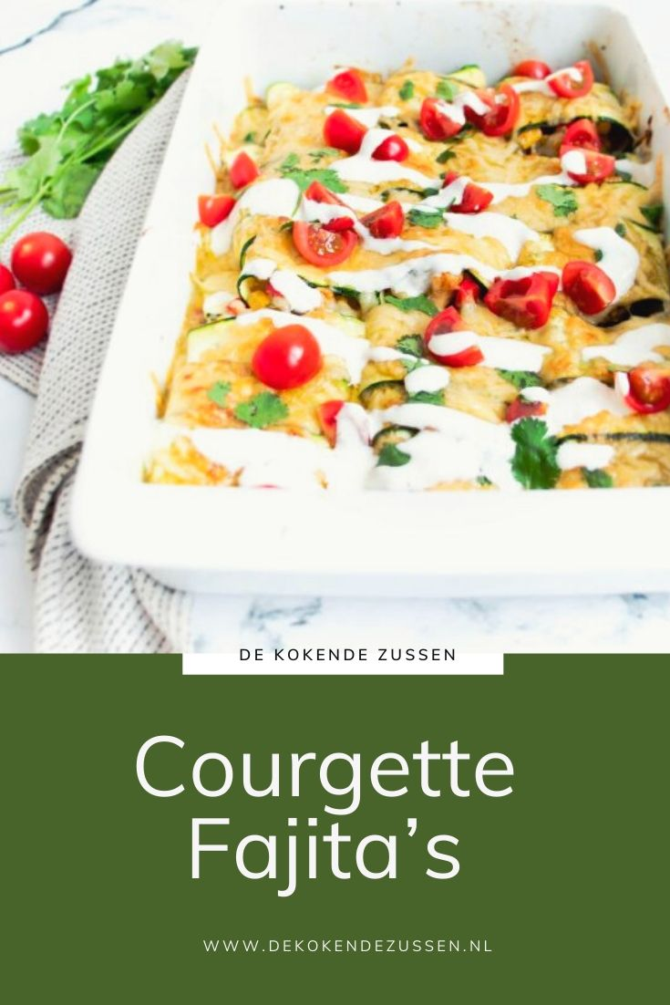 Courgette Enchiladas