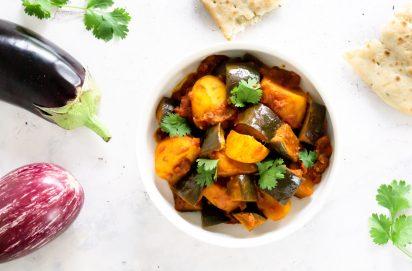 Baingan Masala Curry