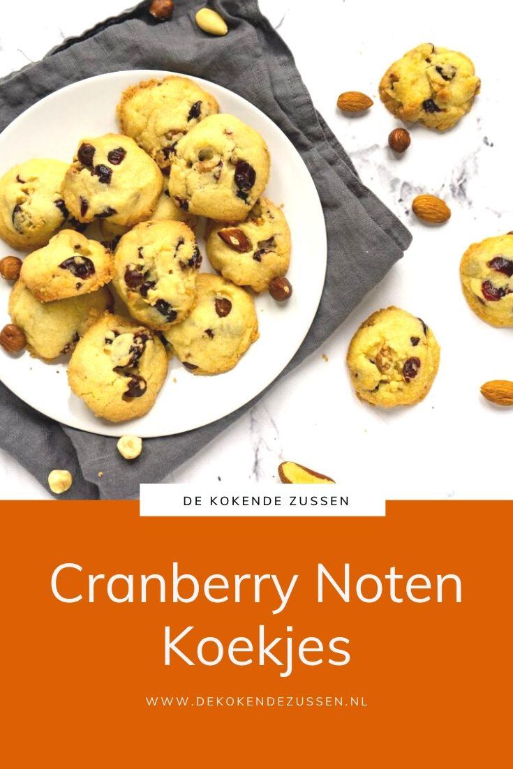 Cranberry Noten Koekjes