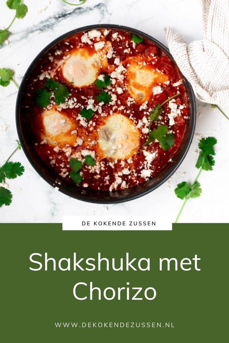 Shakshuka met Chorizo