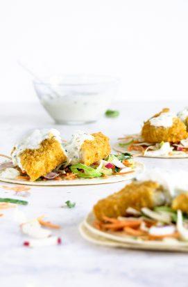 Vis taco's met Kabeljauw