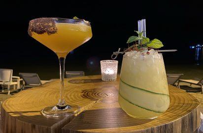 Pornstar en Majestic Lime cocktails bij Hamsa Beach Club