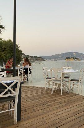 Uitzicht bij Aperitto in Zakynthos