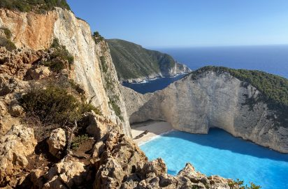 Navagio Beach viewpoint (Shipwreck Beach)