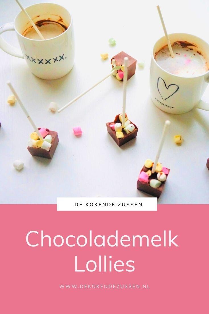 Chocolademelk Lollies