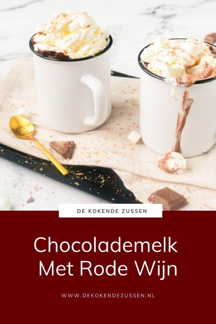 Warme Chocolademelk met Rode Wijn