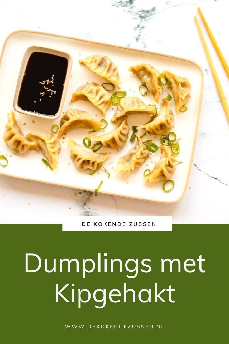 Dumplings met Kipgehakt
