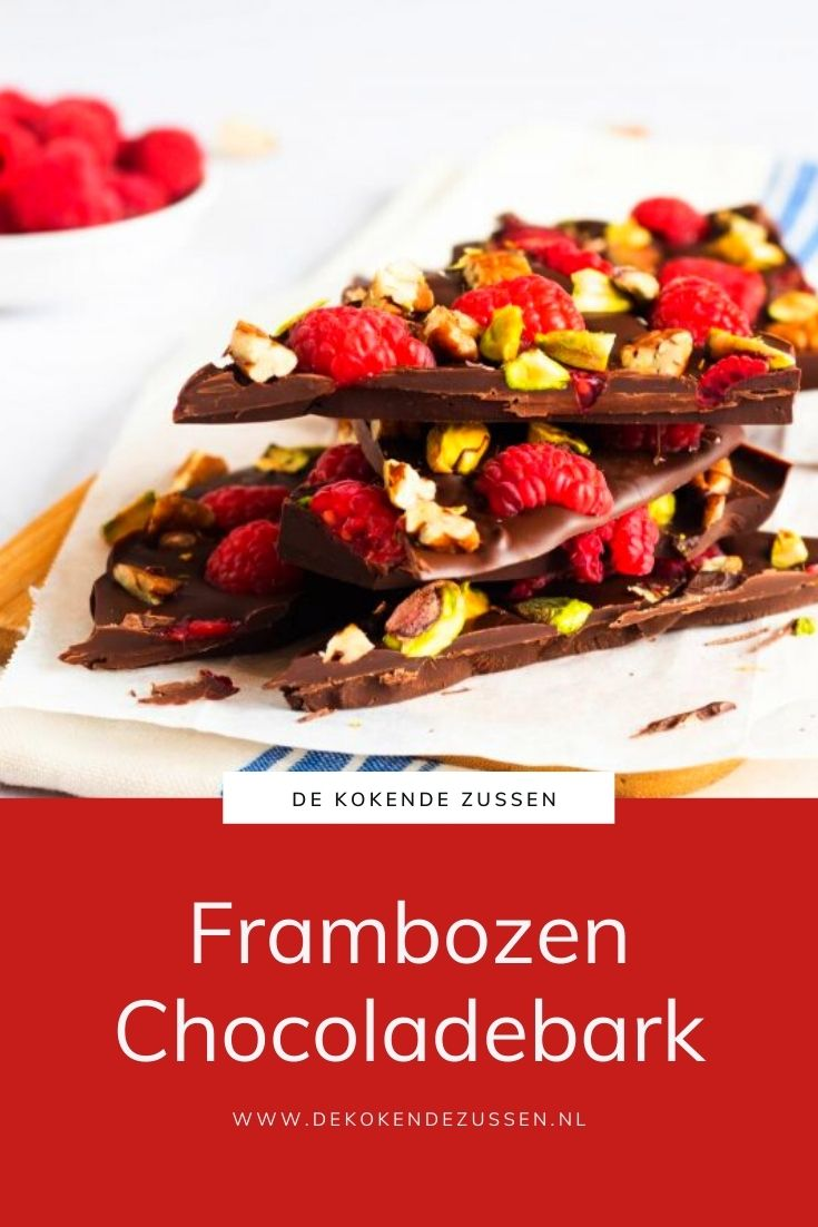 Frambozen Chocolade Bark