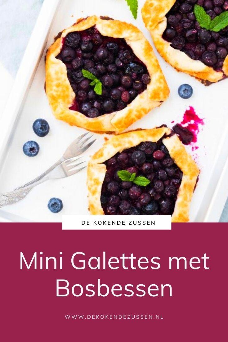 Mini Galettes met Bosbessen