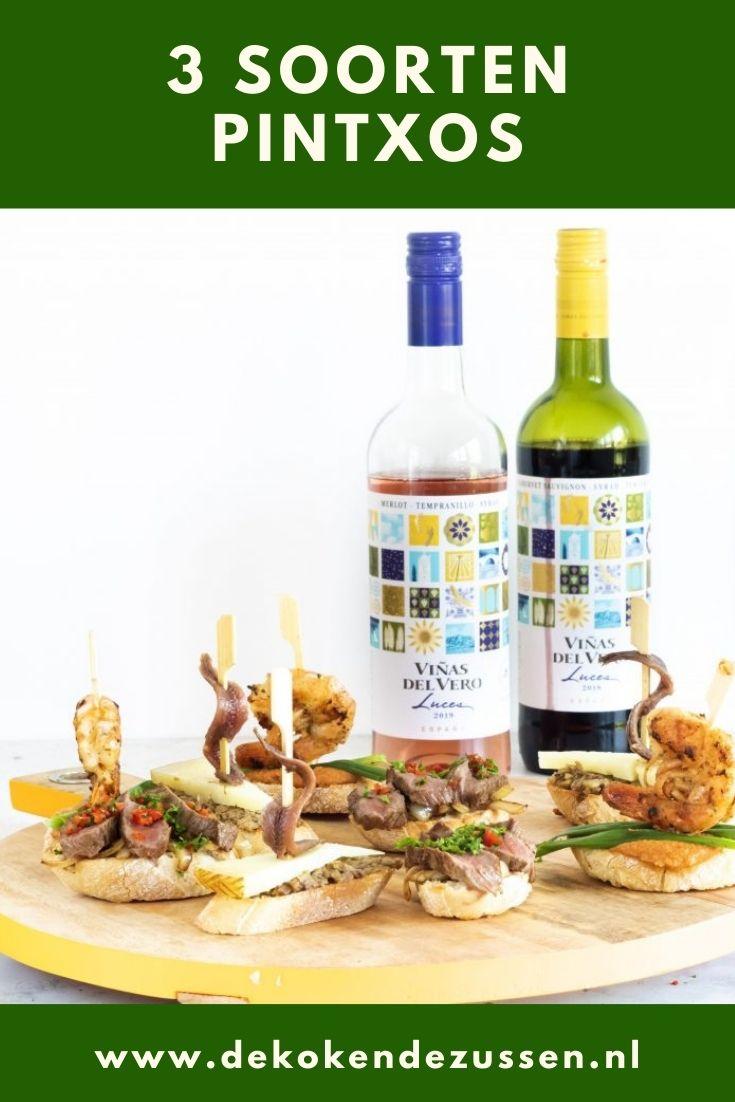 Spaanse Pintxos met Bijpassende Wijnen