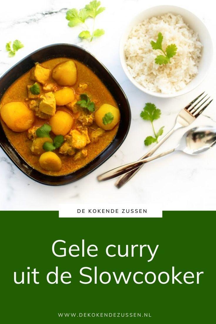 Gele Curry uit de Slowcooker