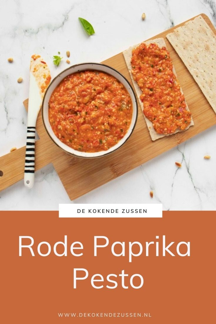 Geroosterde Rode Paprika Pesto