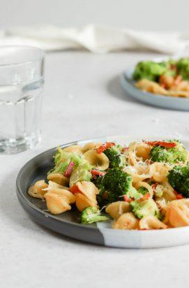 Orecchiette met Bacon en Broccoli