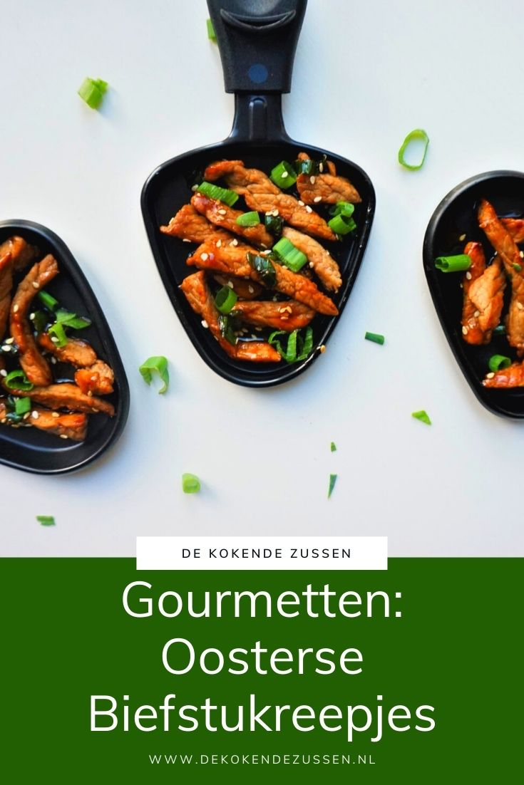 Gourmet Recept Oosterse Biefstukreepjes