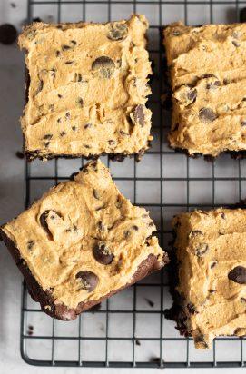 Brownies met Cookie Dough