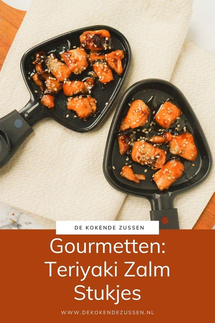 Gourmet Recept Teriyaki Zalmstukjes