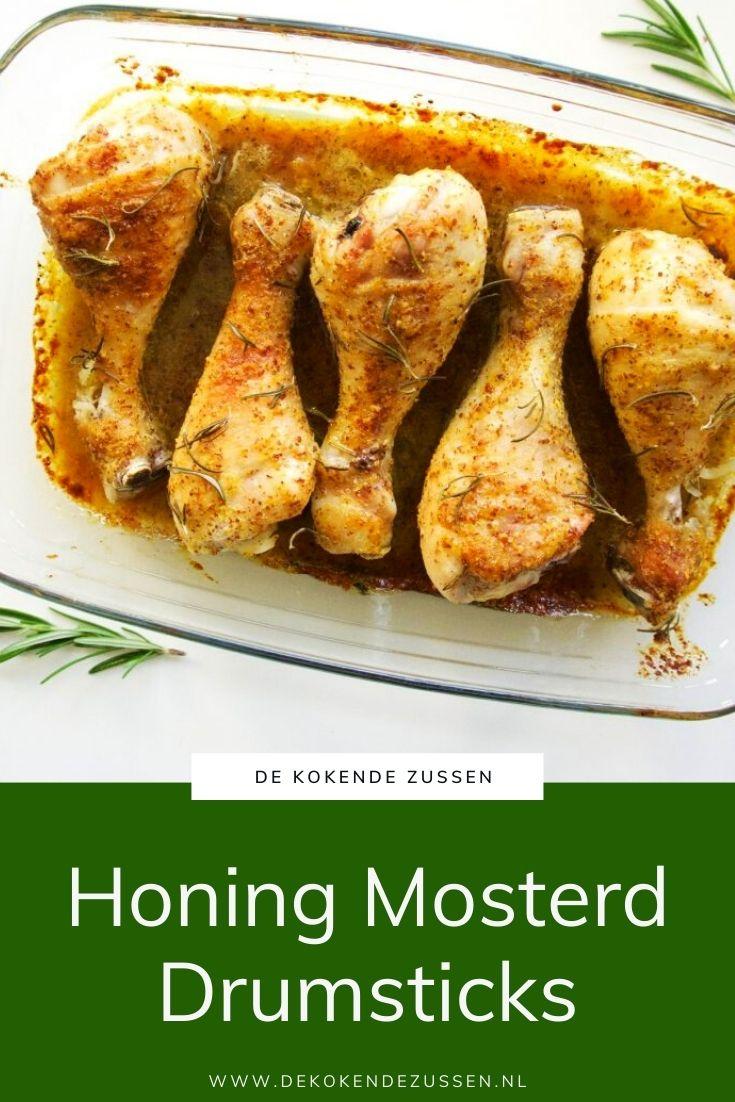 Honing Mosterd Drumsticks