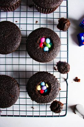 Suprise Chocolade Cupcakes