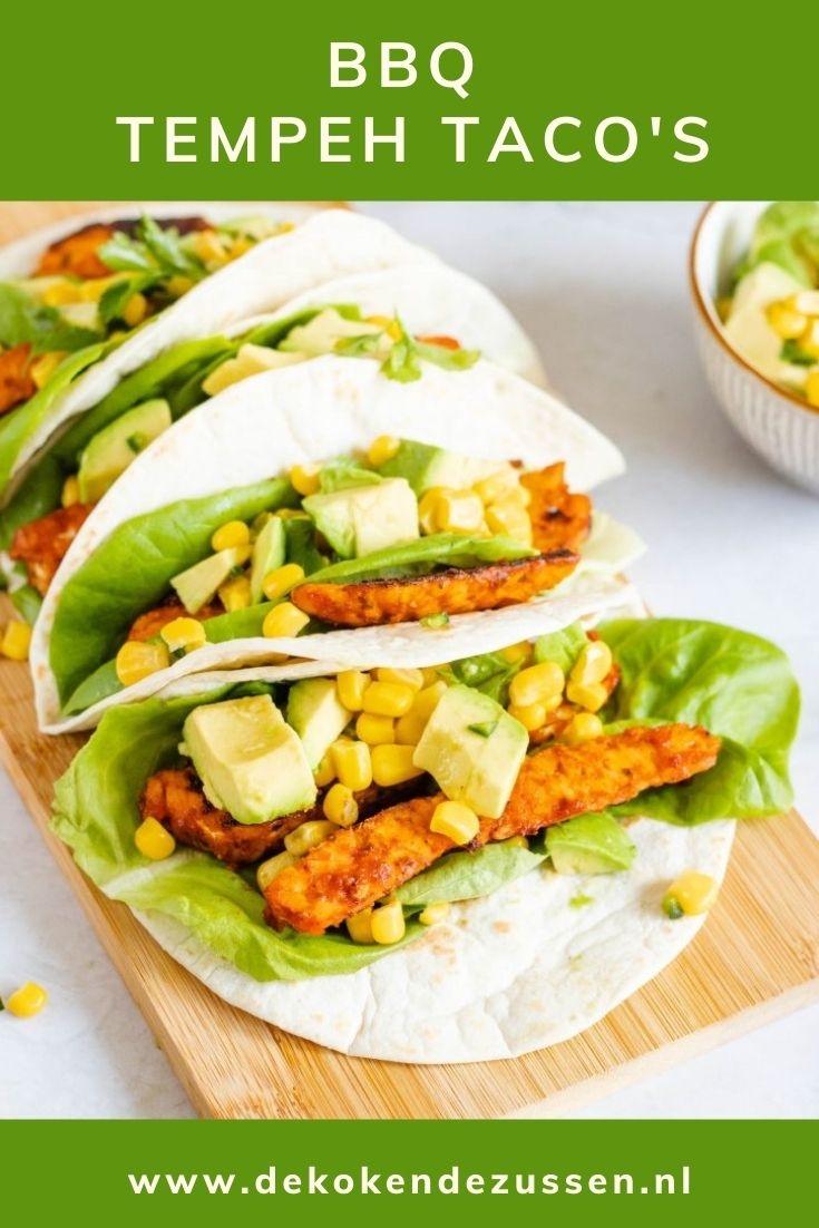 Tempeh Taco's met Avocado Salsa