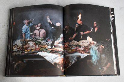 BBQ Feast on Fire
