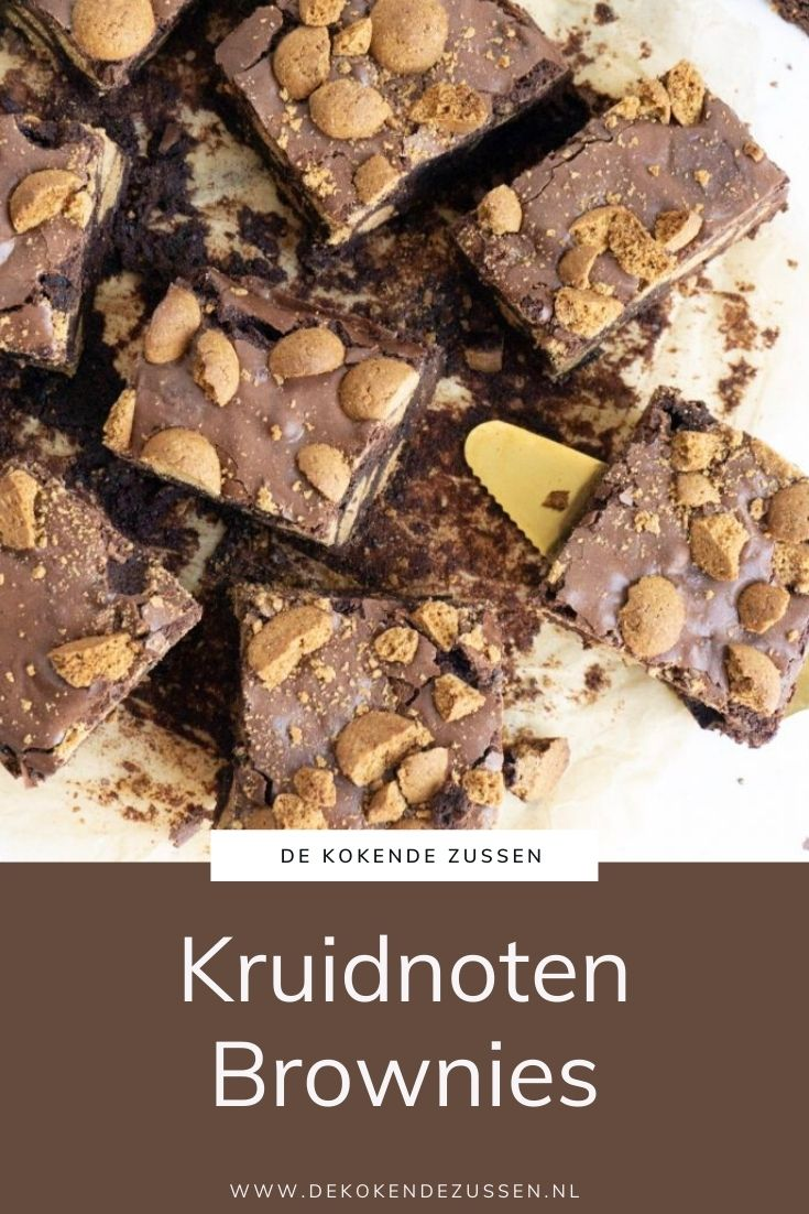 Pepernoten Brownies