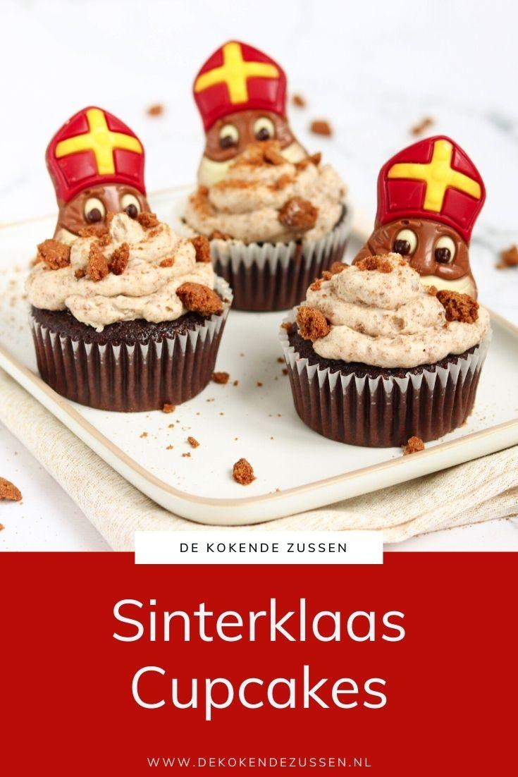 Sinterklaas Pepernoten Cupcakes