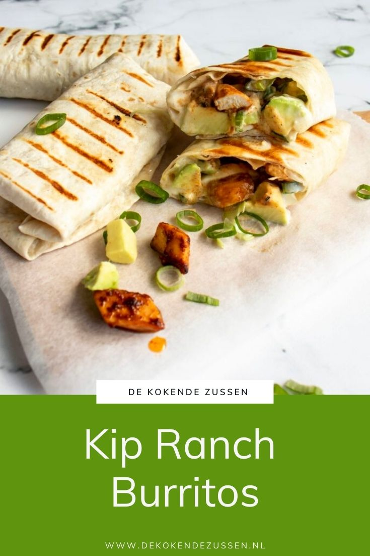 Kip Ranch Burrito met Avocado
