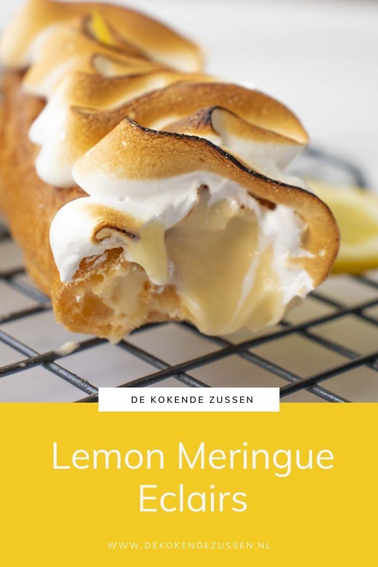 Lemon Meringue Eclairs