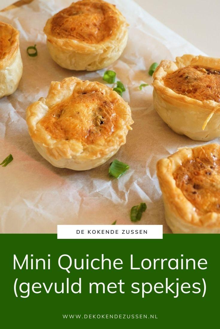 Mini Quiche Lorraine