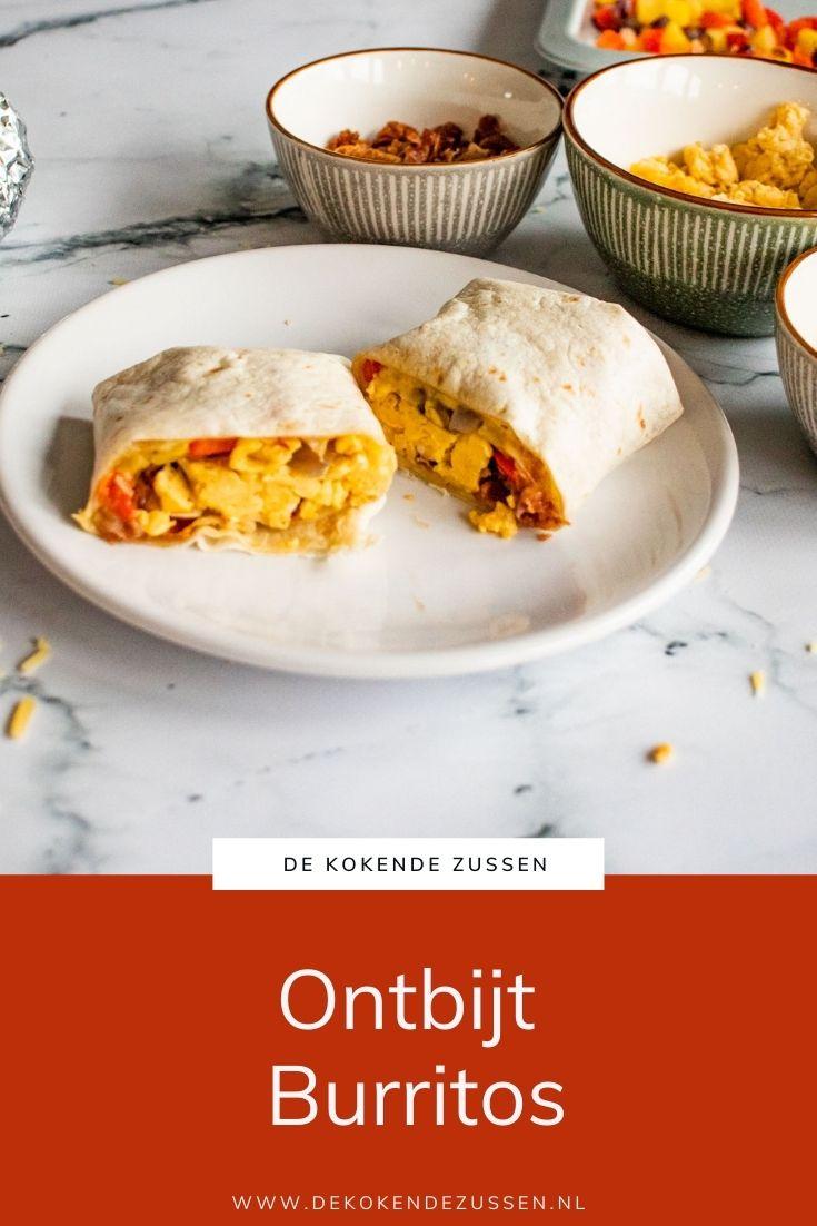 Ontbijt Burrito's
