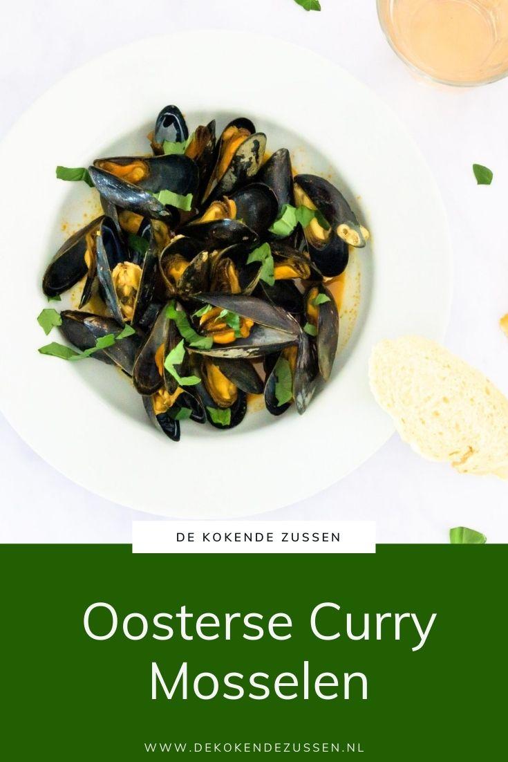 Oosterse Curry Mosselen