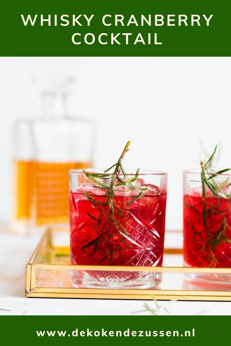 Cranberry Whisky Cocktail