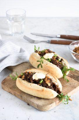 Broodje Stoofvlees met Truffelmayonaise