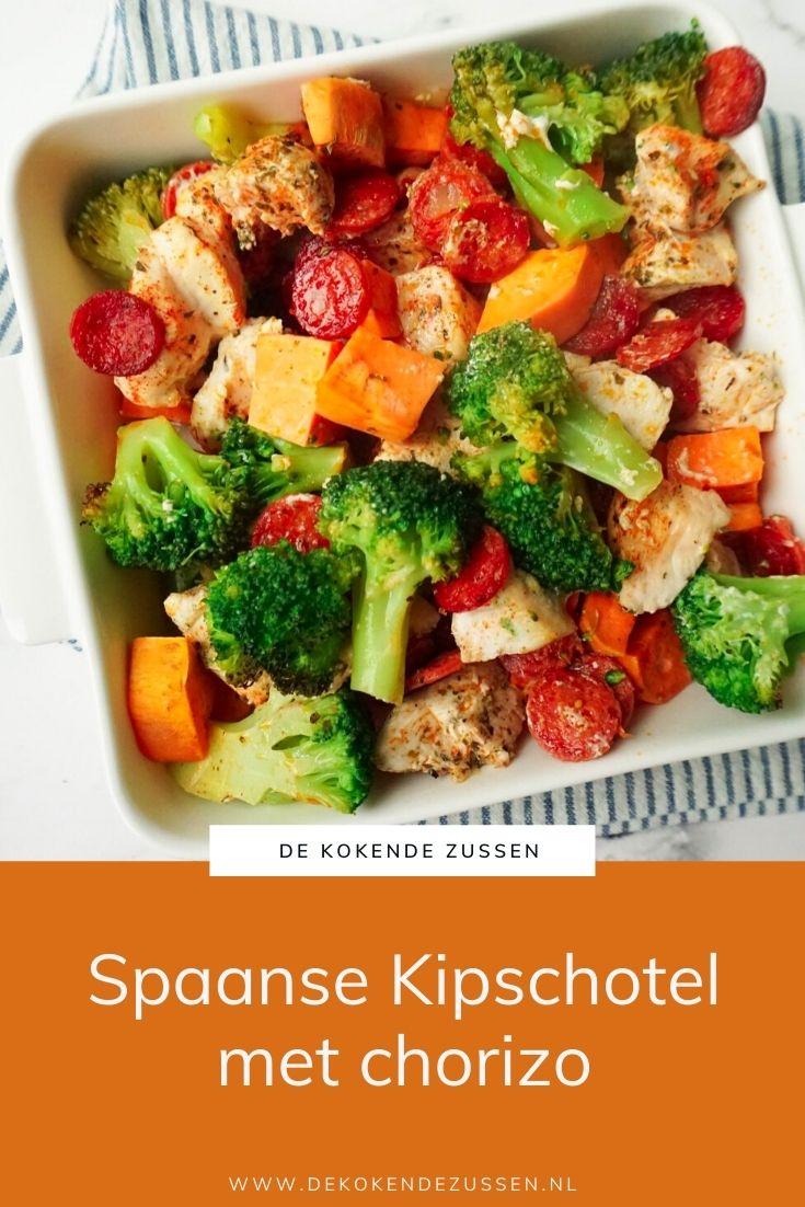 Spaanse Kipschotel met Chorizo