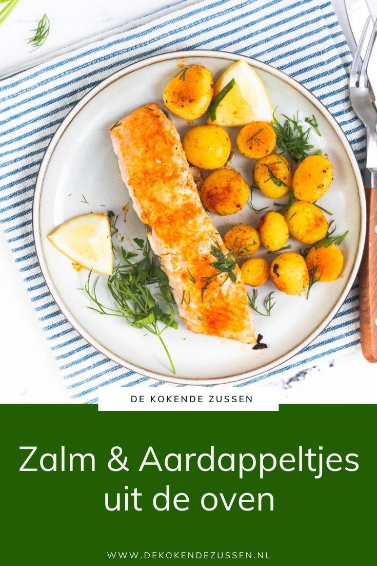 Traybake met Zalm en Aardappeltjes
