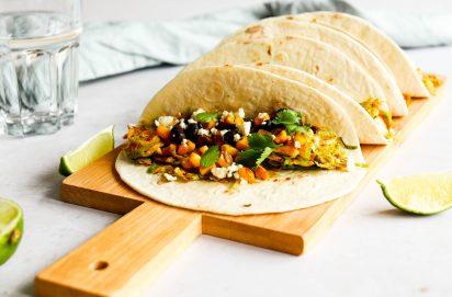 taco's met spruitjes