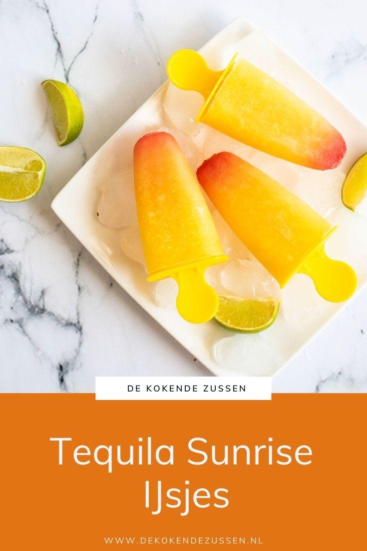 Tequila Sunrise IJsjes