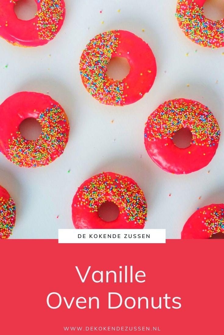 Vanille Ovendonuts