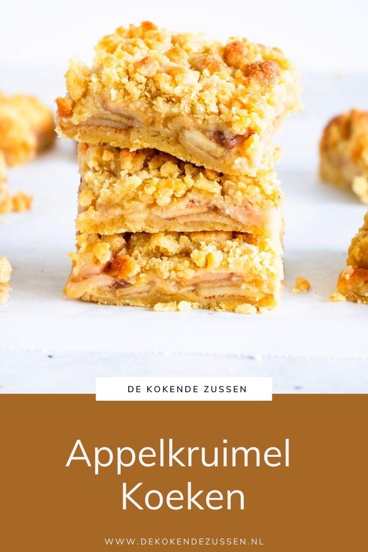 Appelkruimel Koeken
