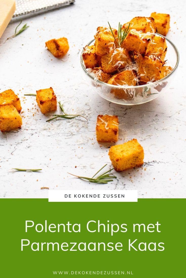 Polenta Chips met Parmezaanse Kaas